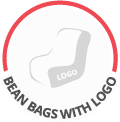 Bean bags with logo